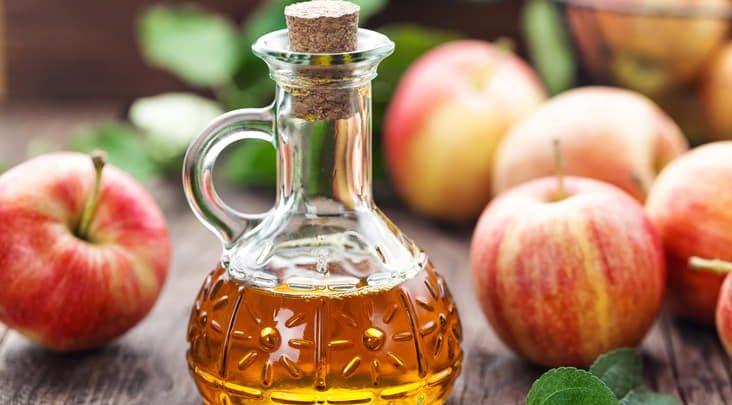 خل التفاح العضوي