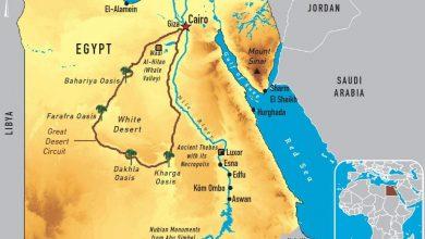 خريطة نهر النيل