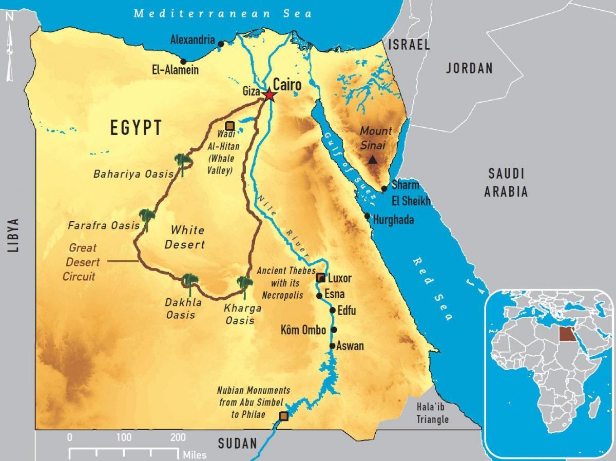 خريطة نهر النيل ويكيات