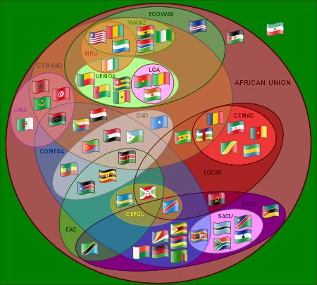 عدد الدول الافريقية