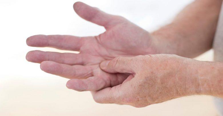 الام اصابع اليد