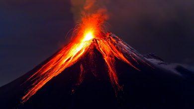 الجبال البركانية