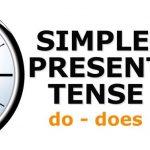 المضارع البسيط present simple بالامثلة